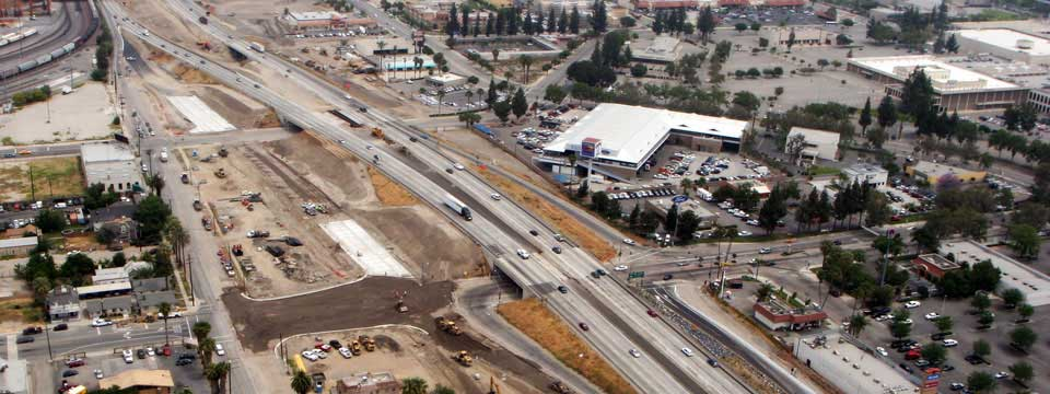 Highway I-10 Expansion Project, Courtesy of San Bernardino County Transportation Authority