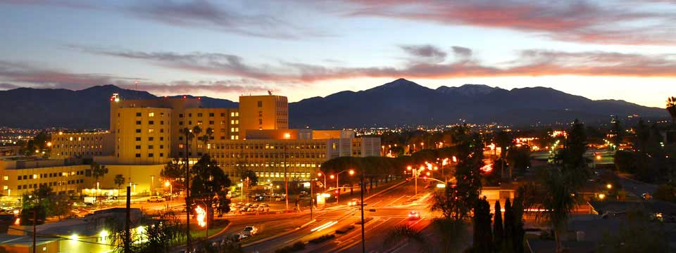 Loma Linda University Medical Center in the Morning