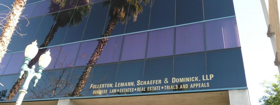 Fullerton, Lemann, Schaefer & Dominick, LLP